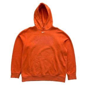 🍊RARE Nike Mid Check Hooded Sweatshirt (Sz XL)